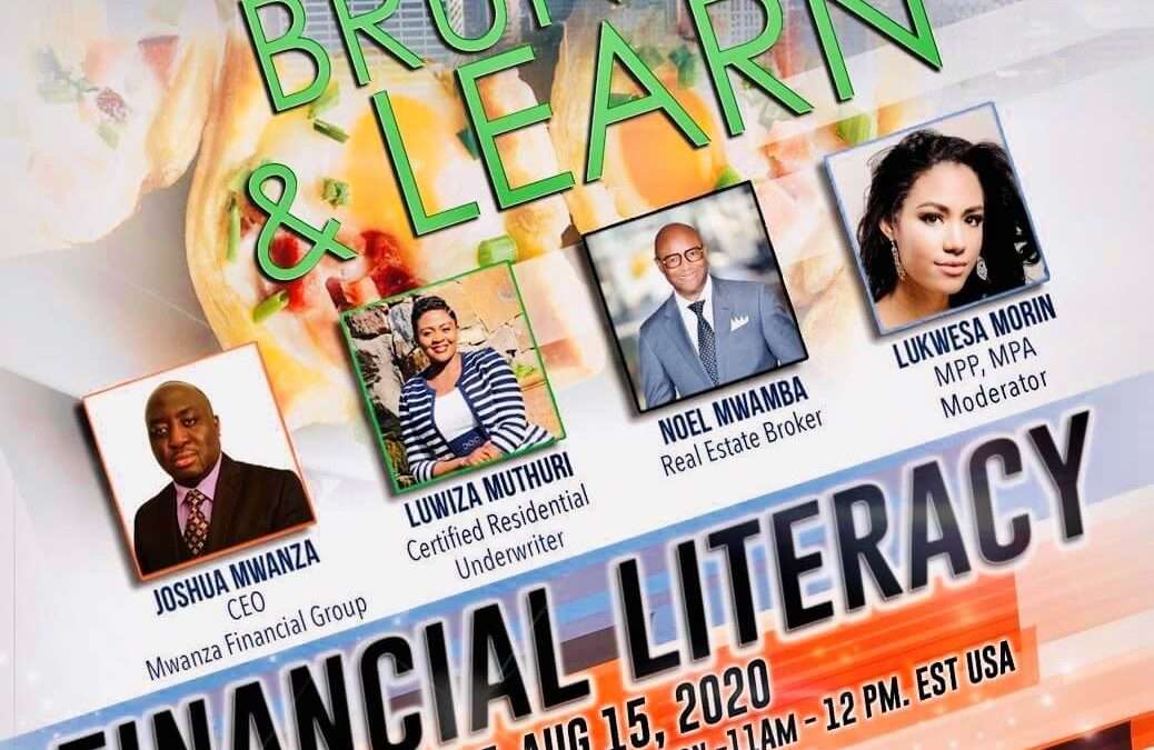 Financial Literacy: Breaking the Chains of Economic Slavery – August 15, 2020