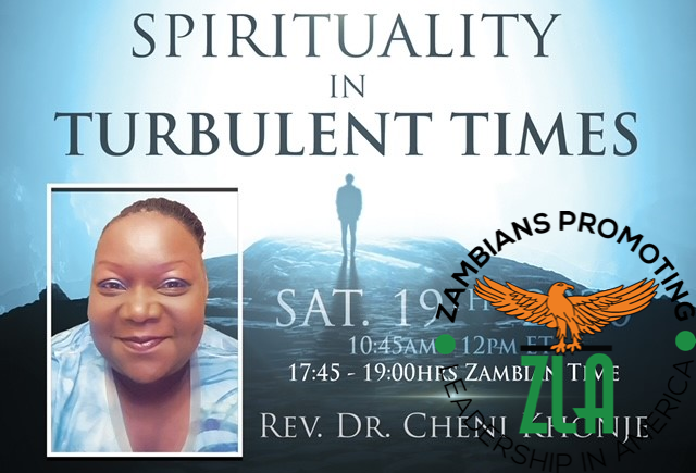 Brunch & Learn 'Spirituality in Turbulent Times' – Dec 19th, 2020